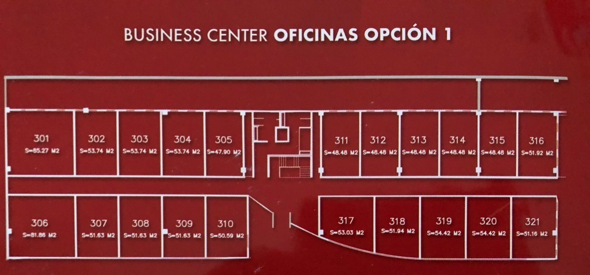 39 de 43: Oficinas Opción 1