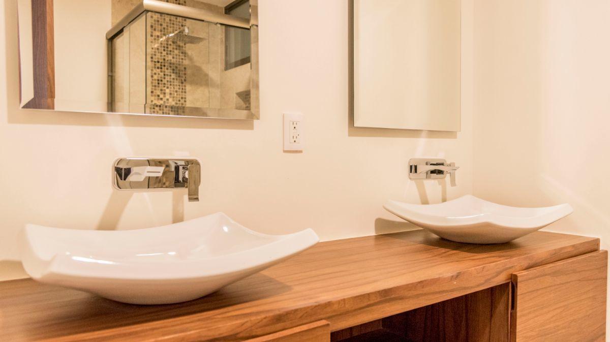 16 de 32: Doble lavabo mueble de tzalam