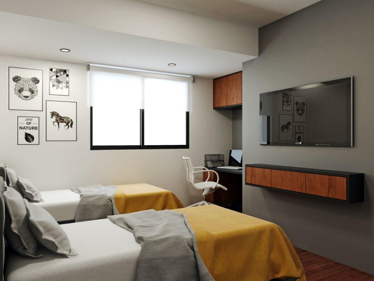 11 de 13: Foto Referencial del Dormitorio Secundario