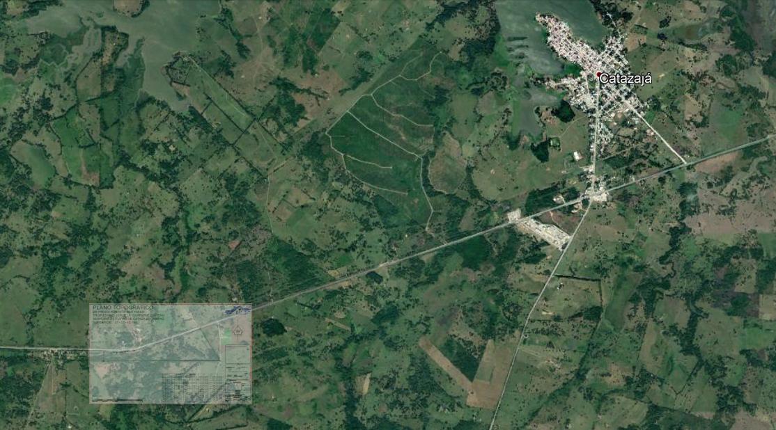 5 de 8: Vista aérea. Propiedad a  5 minutos de Catazajá