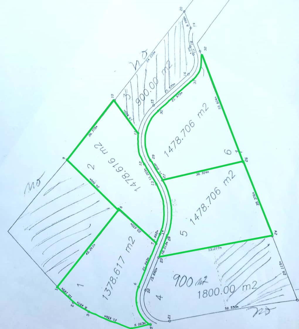 2 de 8: Áreas marcadas en verde disponibles