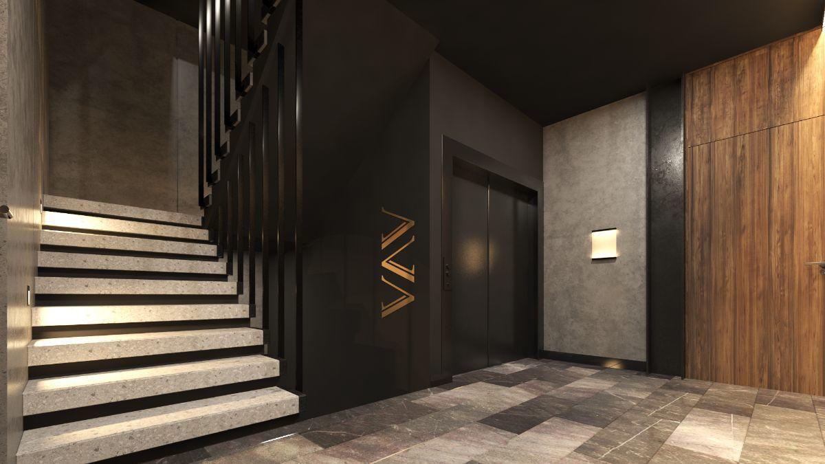 9 de 10: Vestíbulo 2 y elevador
