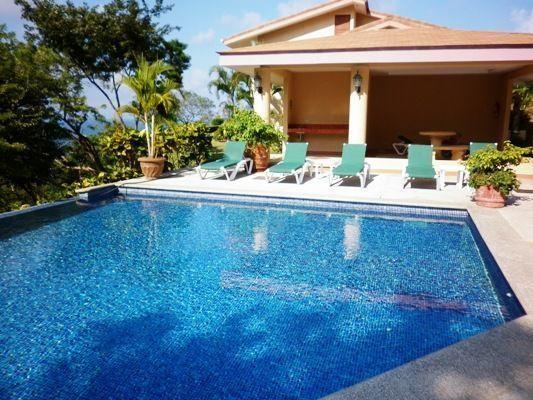 9 of 12: Upper pool  50 meters from villa