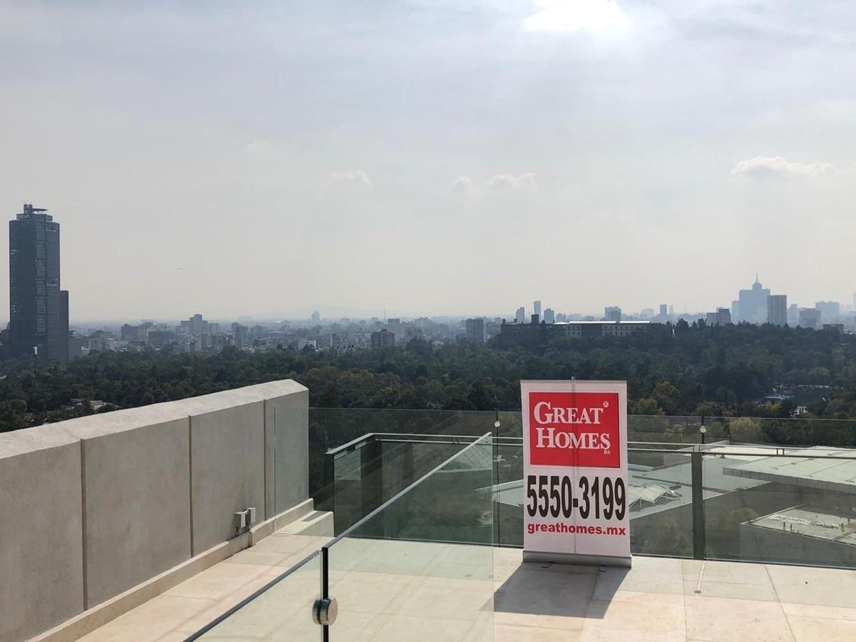 7 de 23: Roof con vista al Castillo de Chapultepec