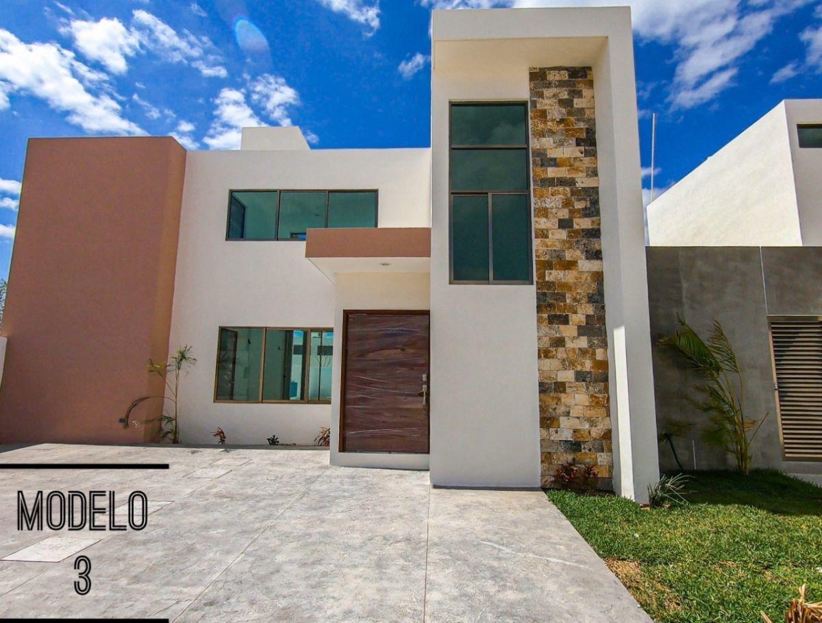 1 de 12: Casa en venta San Diego Cutz Hacienda(Mod 3) Mérida Yucatán