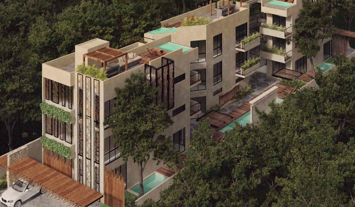 5 de 5: Render condominio general