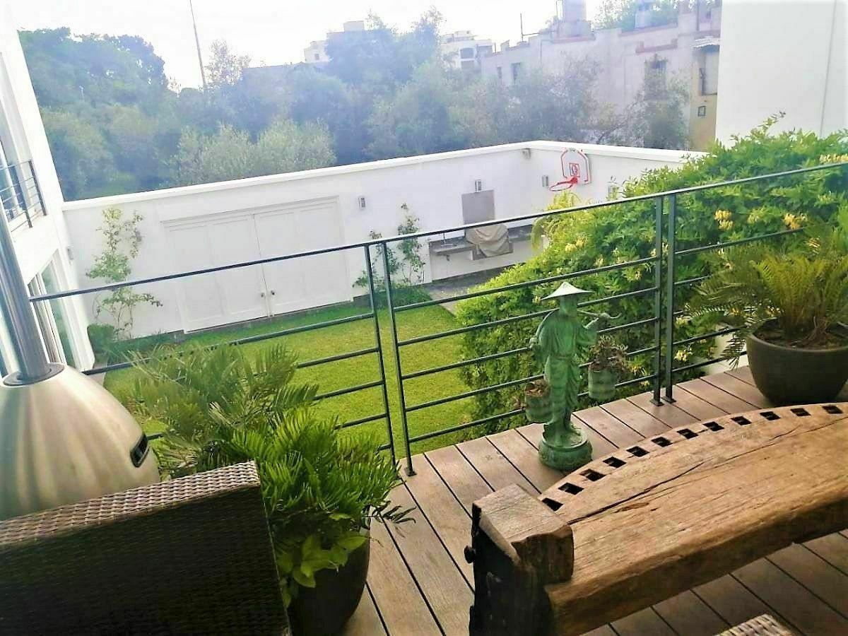 8 de 21: Vista desde Terraza saliendo Sala Estar a Bosque el Olivar!