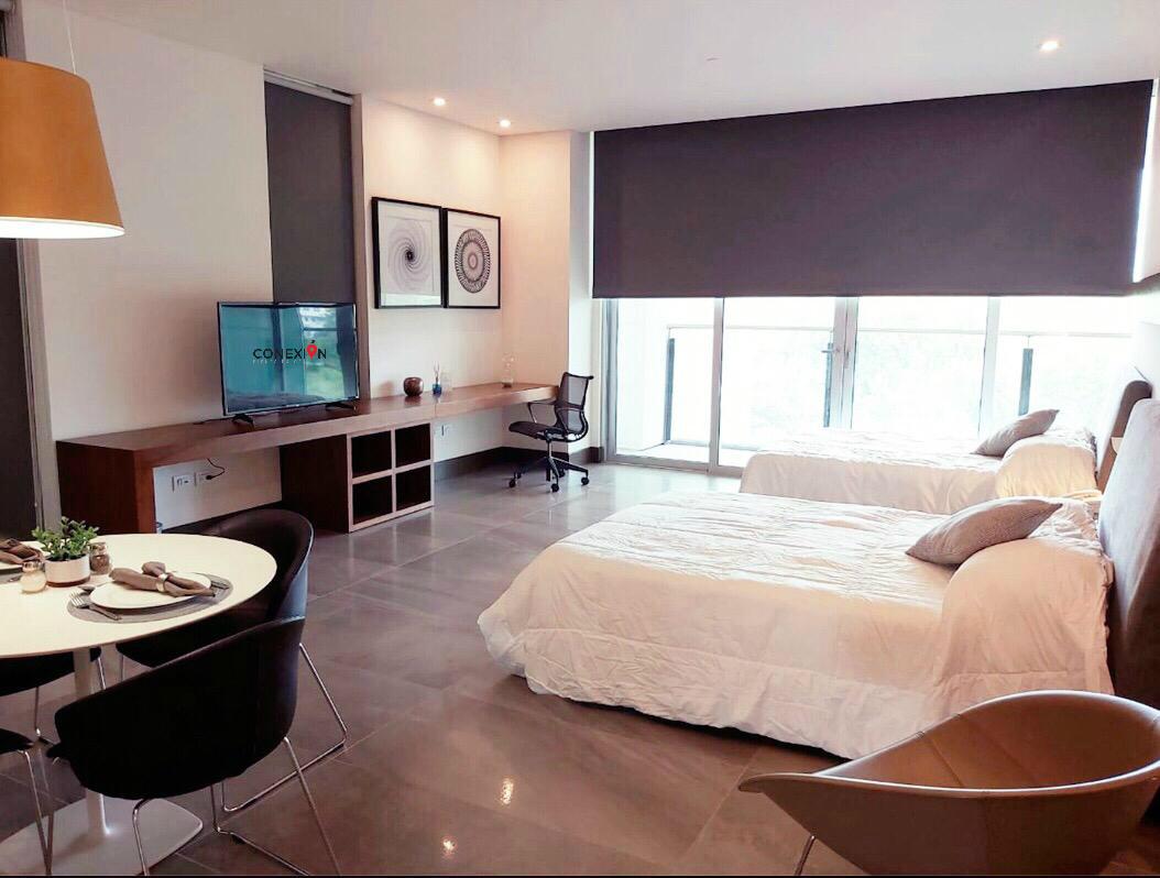 12 de 17: Torre con Amenidades,  Suites equipadas para visitas