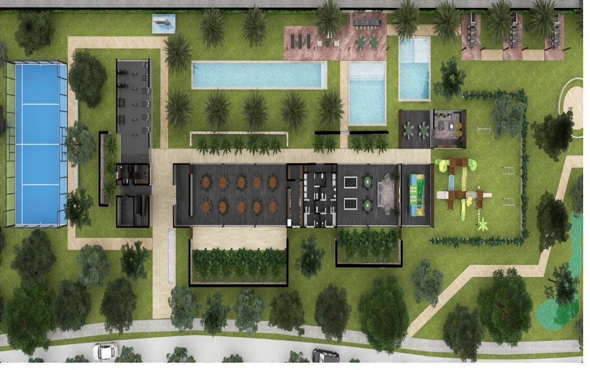 32 de 35: Plano Planta  Baja Casa Club