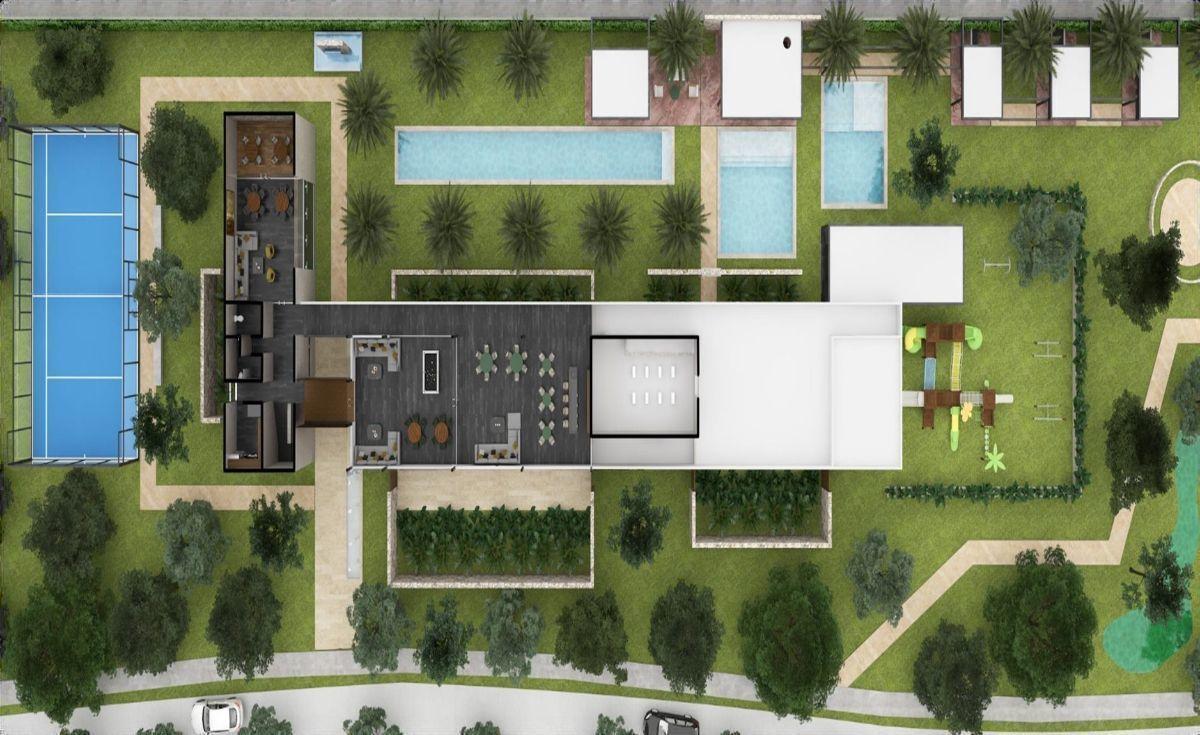33 de 35: Plano Planta Alta Casa Club