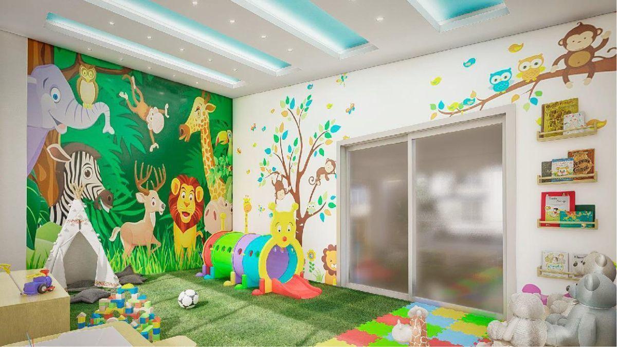 9 de 30: Imagen prospectiva área infantil - Res. Praderas del Mirador