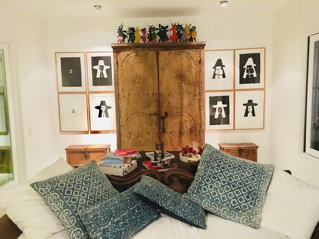 15 de 29: Family room maravillosamente decorado