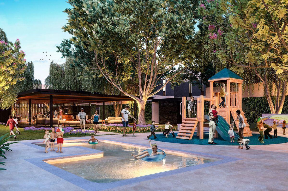 15 de 17: Piscina-Área de Juegos Infantiles