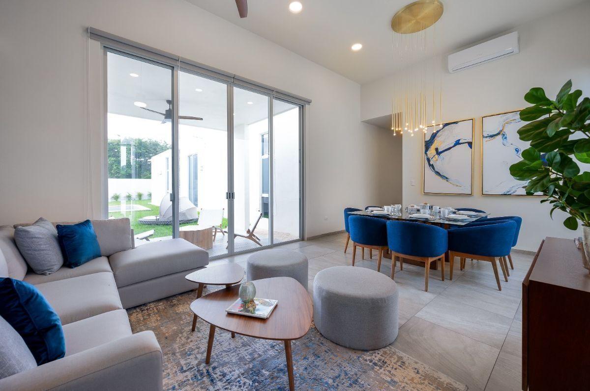 2 de 17: Casa en venta  una planta Privada Alba  Conkal Mod. 227