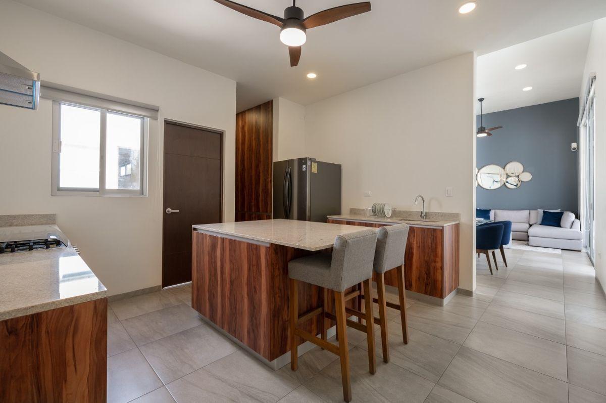 4 de 17: casa equipada lista para entrega de un piso