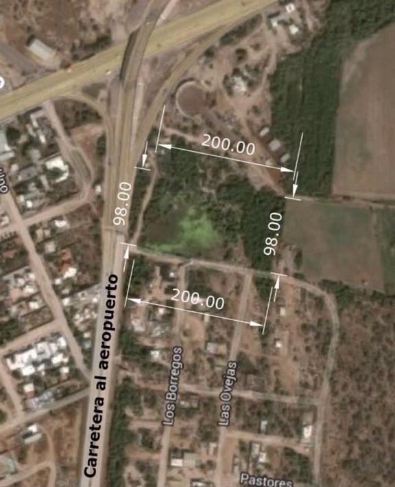 1 de 1: Imagen satelital. 20x98