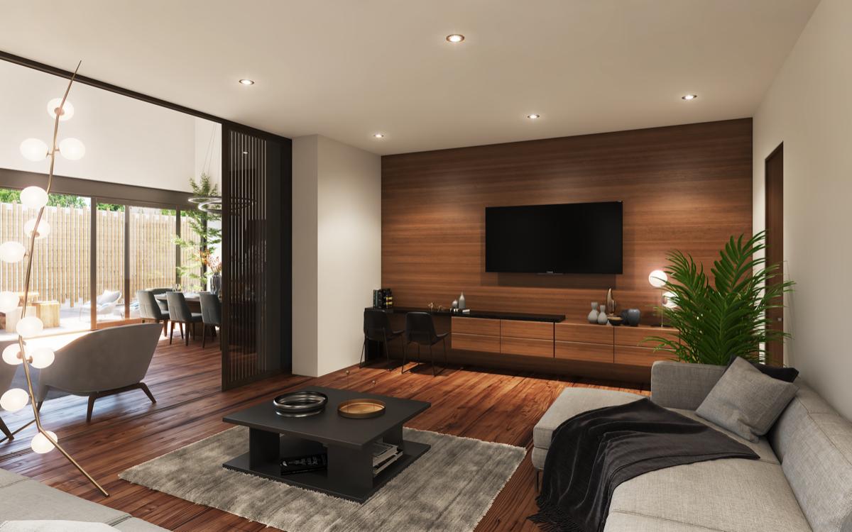 3 de 13: Family Room o sala TV (imagen ilustrativa)