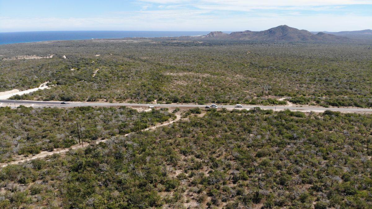 1 de 5: Vista frontal de carretera a playa