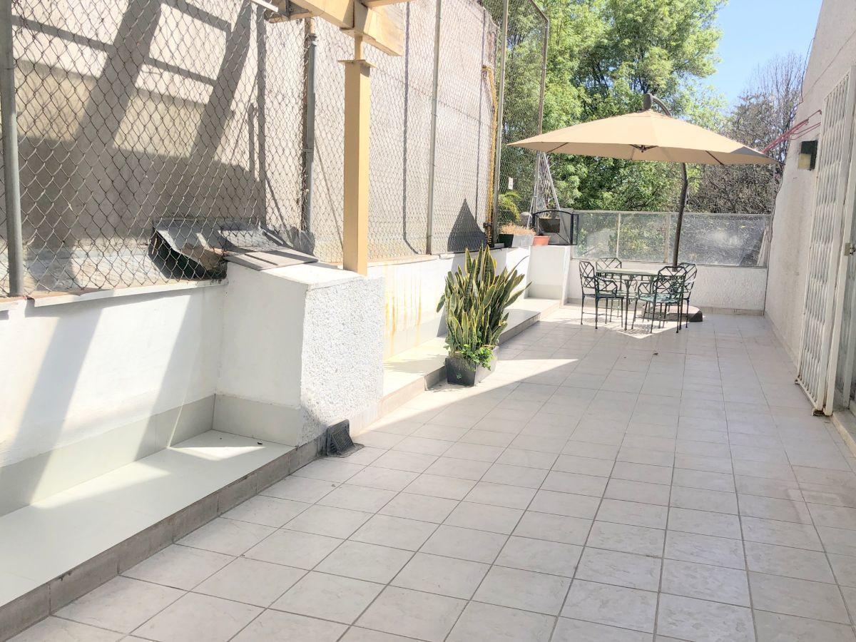 7 de 23: Terraza de 53 m2 afuera de la recámara principal
