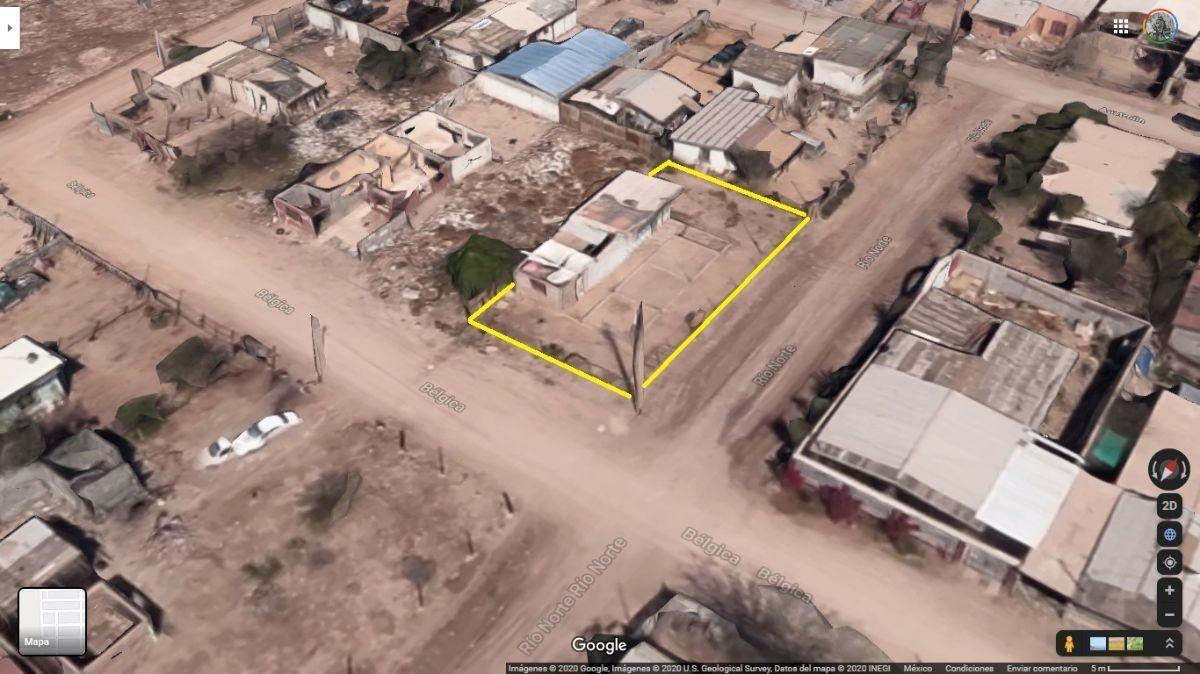 1 de 5: Vista satelital de Google
