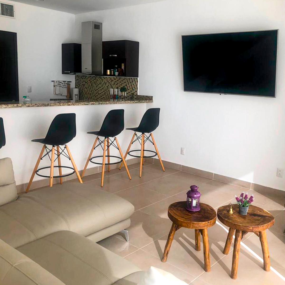 7 de 13: Sala ideal para pasar tardes en familia