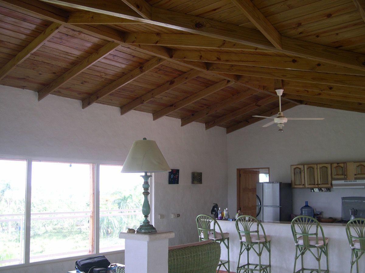 6 de 7: Amplio Salon, al fondo cocina abierta tipo americana.