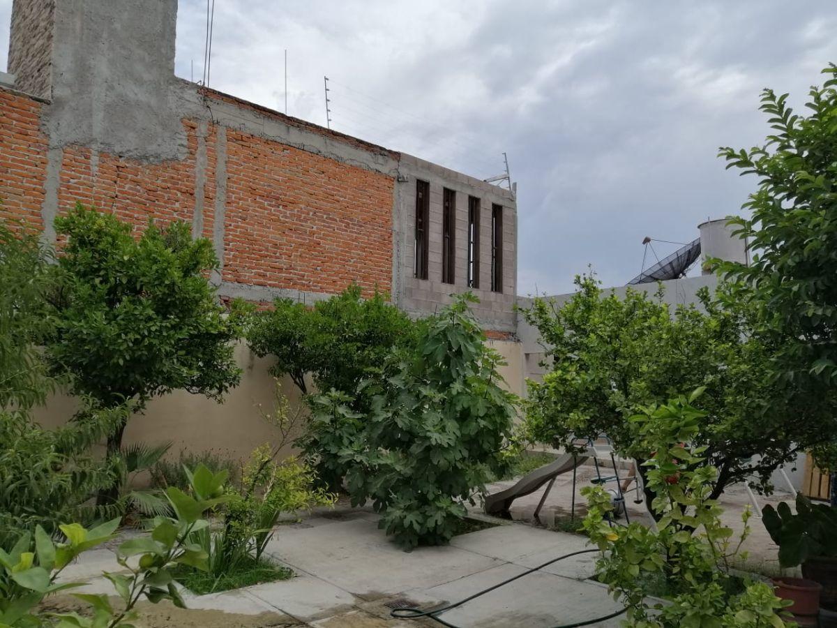 13 de 15: Jardín trasero con arboles frutales