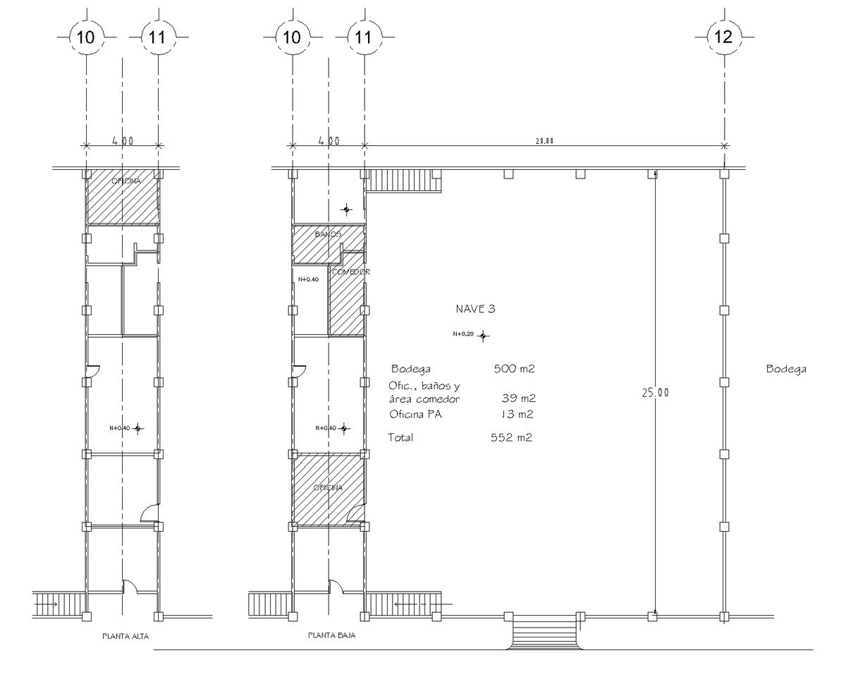 7 de 7: Planta Arquitectónica
