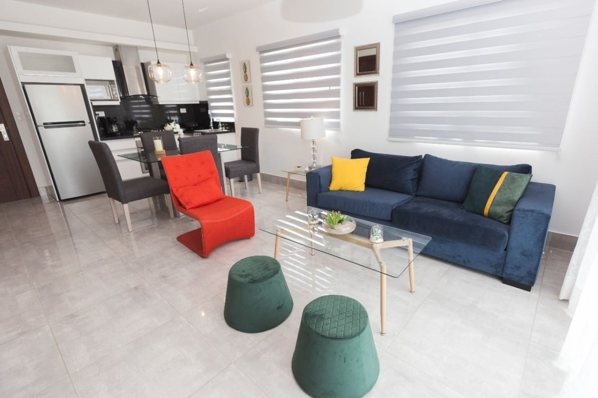 1 de 37: apartamento en santiango 1 dormitorio fashion y glam