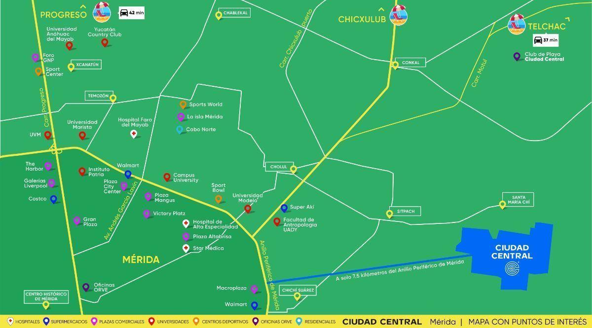 38 de 42: Mapa de ubicación con puntos de interés