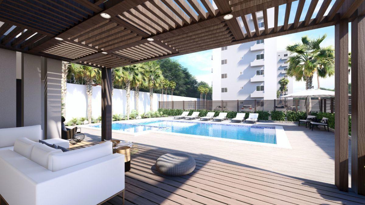 3 de 6: piscina mas terraza