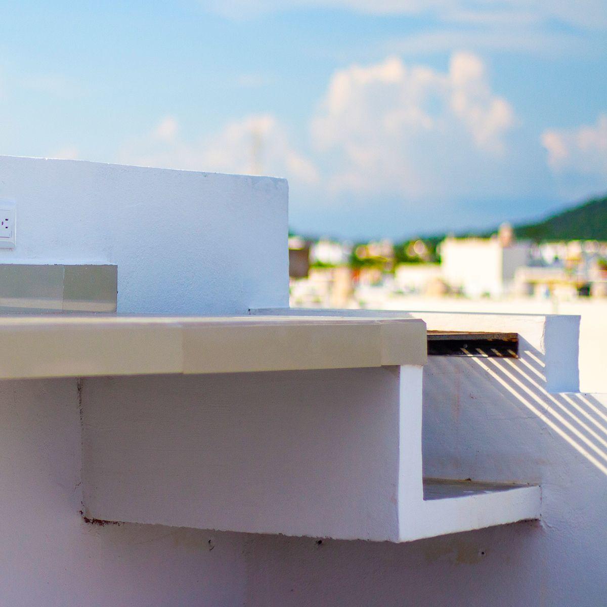 6 de 10: Su roof graden se encuentra equipado para su comodidad