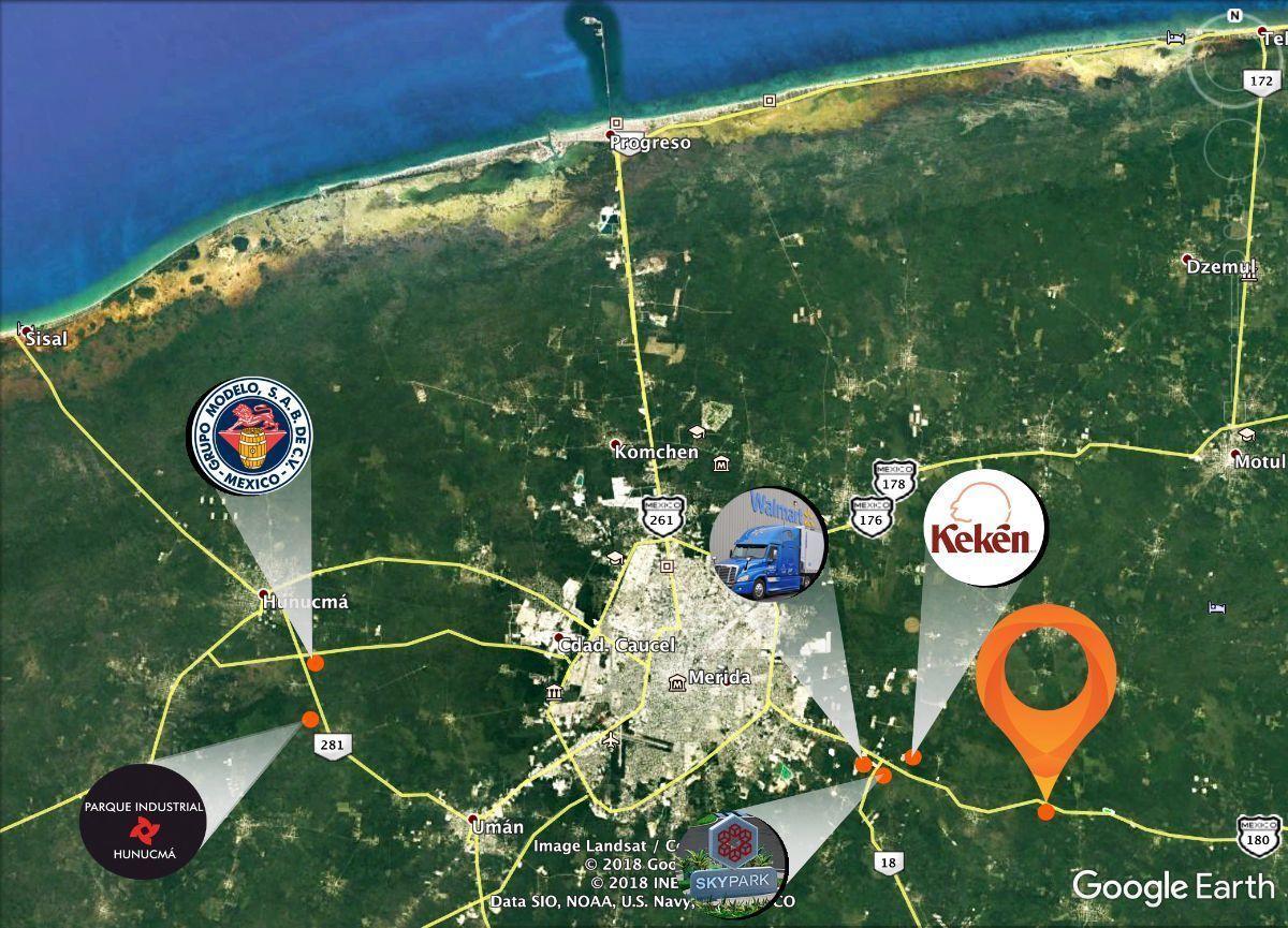 1 de 8: A solo 7 min. de los desarrollos mas importantes del Sureste