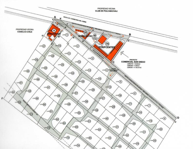 2 de 7: Master Plan proyecto  comercial y residencial San Diego