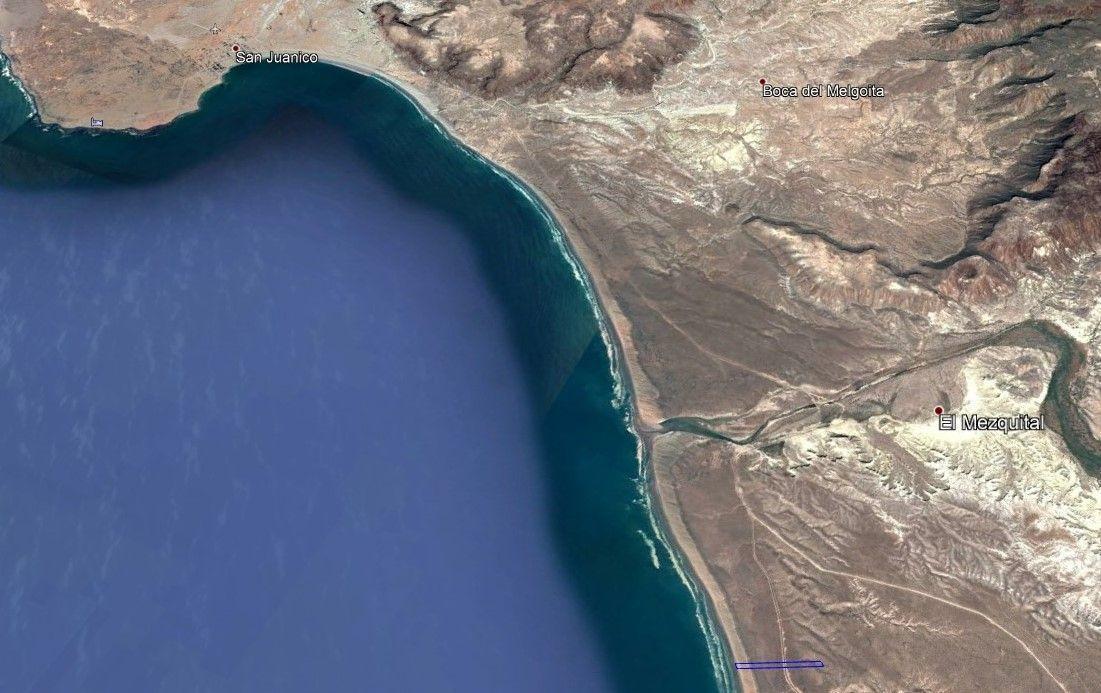 1 de 6: Vista aérea zona de bahía