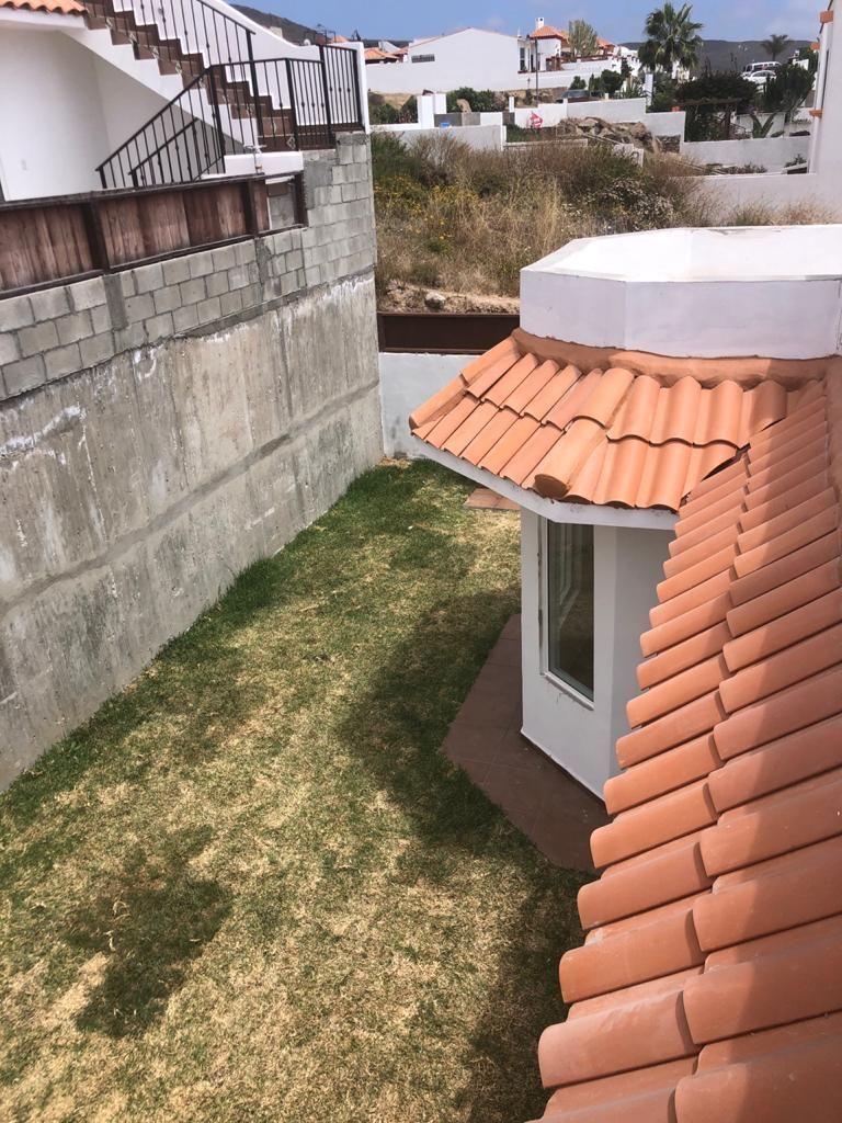 6 de 6: Jardin exterior con asador