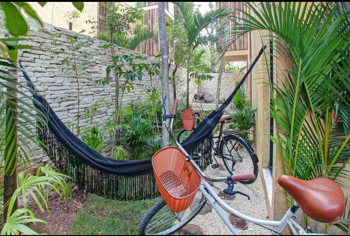 12 de 20: private garden ( 2 bikes included)