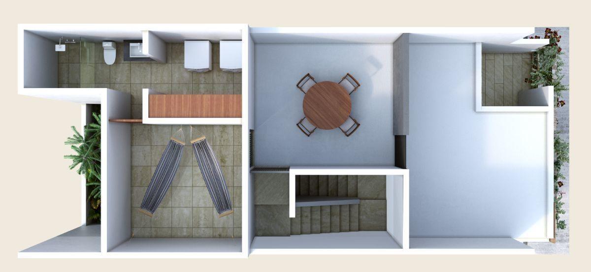 4 de 7:  tercer nivel azotea roof top