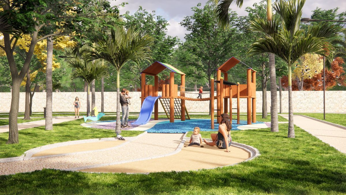 10 de 24: Área de Juegos Infantiles