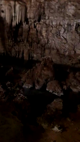 12 de 13: existen como montículos dentro del cenote