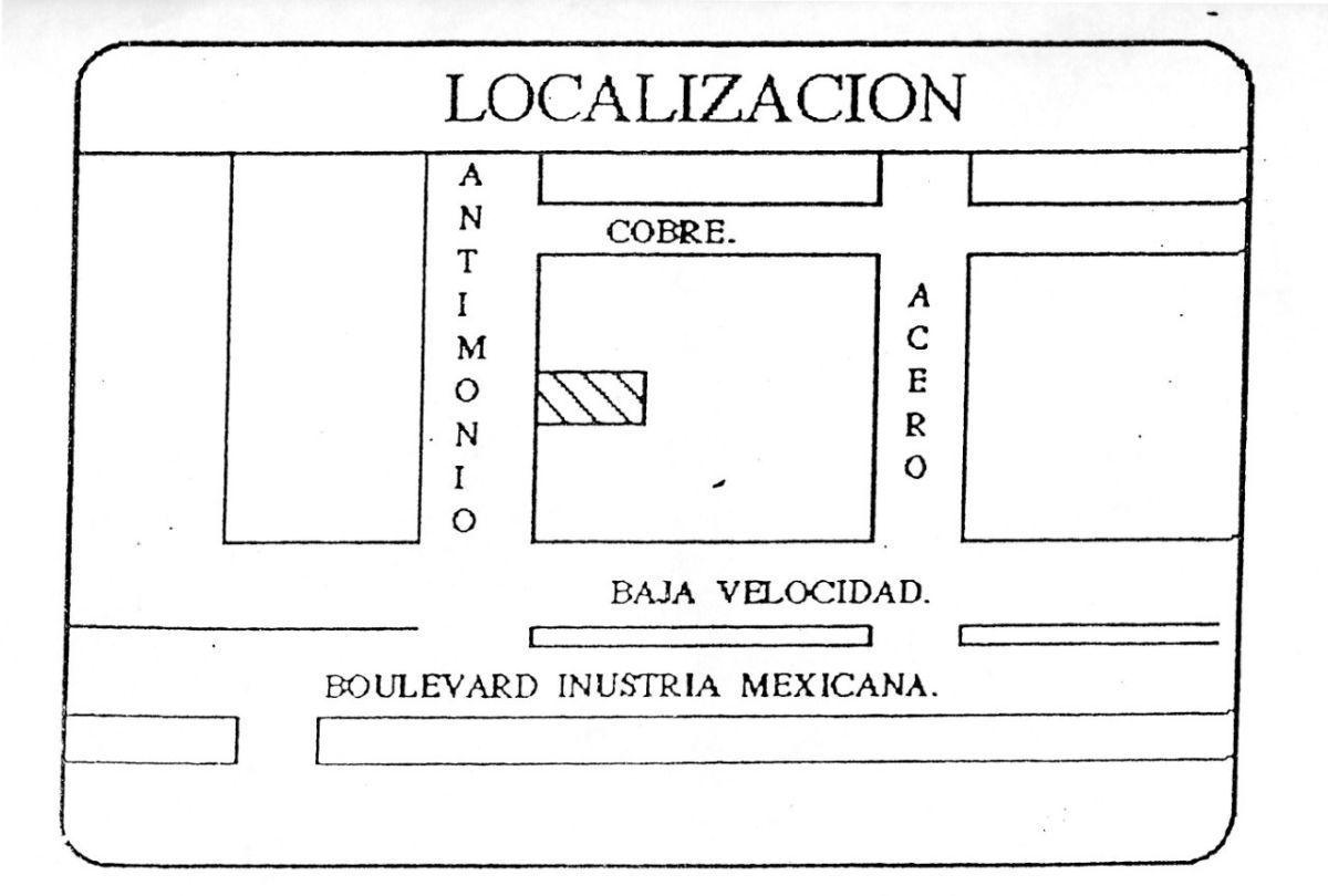 10 de 11: Croquis de localización dentro de Ciudad Industrial