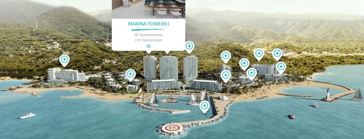 3 de 47: Marina Towers I 68 Apartamentos 172 Habitaciones