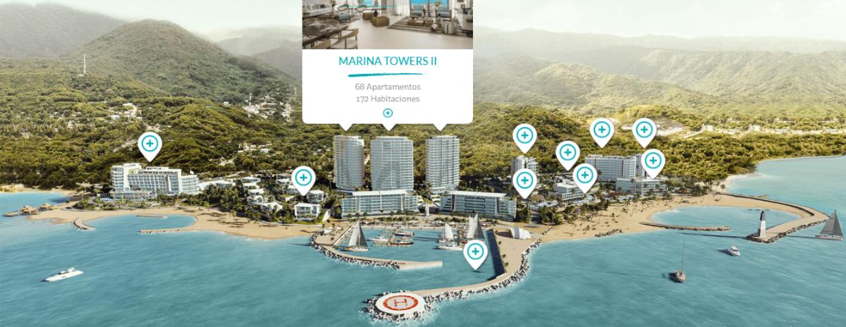 4 de 47: Marina Towers II 68 Apartamentos 172 Habitaciones