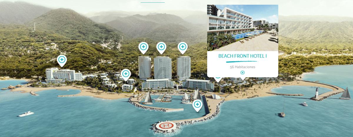 10 de 47: Beach Front Hotel 1 con 56 habs