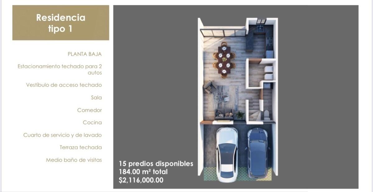 5 de 15: Residencia Tipo 1 Planta Baja