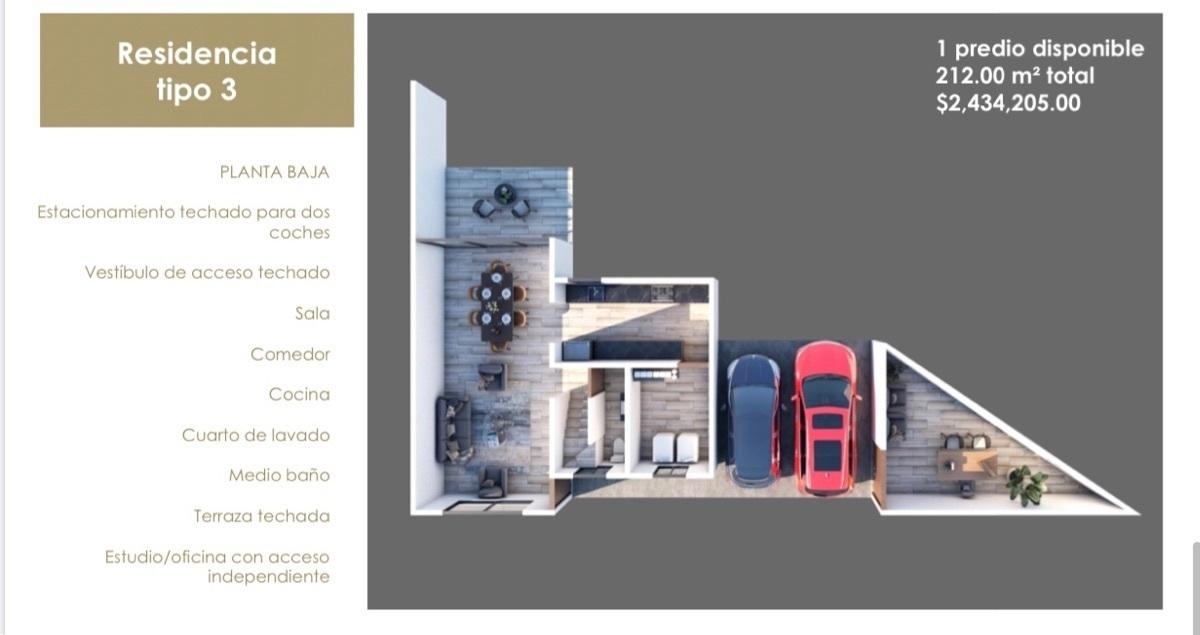 14 de 15: Residencia Tipo 3 PB. estudio con acceso independiente