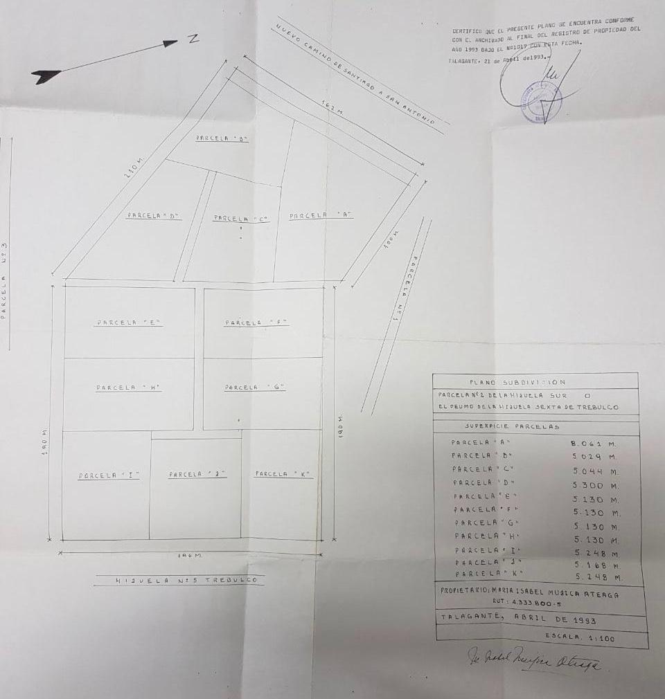 2 de 15: Plano parcelas