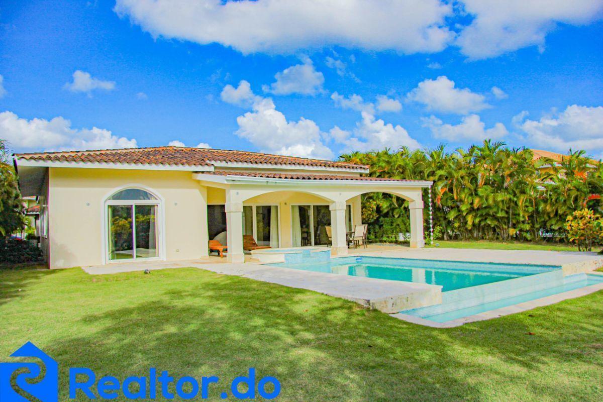 2 de 46: villa en punta cana alquiler vacacional 3 dormitorios piscin