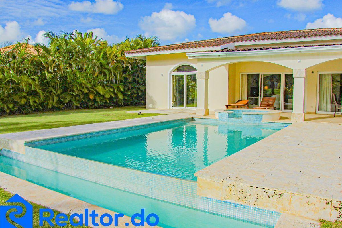 1 de 46: villa en punta cana alquiler vacacional 3 dormitorios piscin