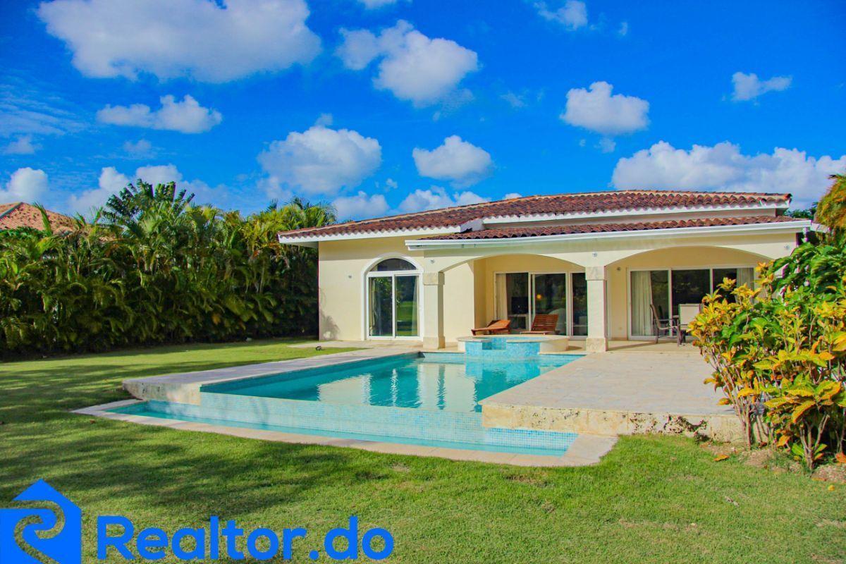 5 de 46: villa en punta cana alquiler vacacional 3 dormitorios piscin